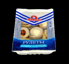 Рулеты с сыром и грибами 240гр
