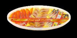 """Ассорти рыбное """"Горбуша, скумбрия и кусочки сельди"""" 270гр Вкусное море"""