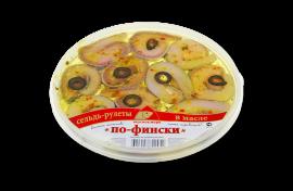 """Рулеты из сельди """"По-фински"""" 230гр Вкусное море"""