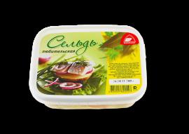 """Сельдь любительская """"С овощами в масле"""" 200гр Вкусное море"""