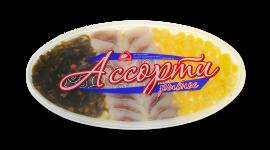 """Ассорти рыбное """"Кукуруза и морская капуста"""" 200гр Вкусное море"""