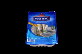 """""""Матиас"""" Сельдь филе оригинальная в масле 500гр"""