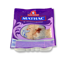 """""""Матиас"""" Сельдь филе в масле """"С приправами"""" 250гр"""