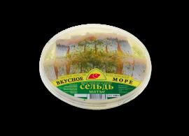"""Сельдь филе """"Матье"""" 180гр Вкусное море"""