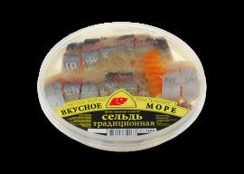 """Сельдь филе """"Традиционная"""" 180гр Вкусное море"""