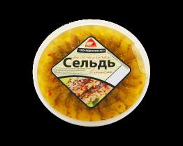 """Сельдь филе """"По-королевски"""" 380гр Вкусное море"""