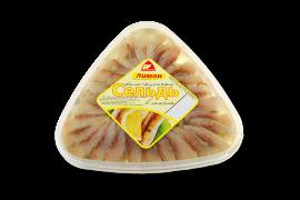 Сельдь филе с лимоном 500гр Вкусное море