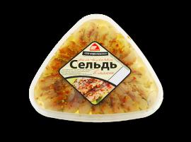 """Сельдь филе """"По-королевски"""" 500гр Вкусное море"""