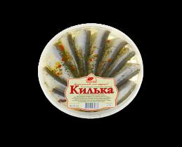 Килька балтийская пряного посола 170гр Вкусное море