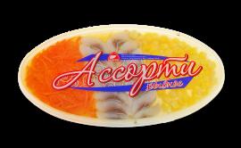 """Ассорти рыбное """"Морковь и кукуруза"""" 200гр Вкусное море"""