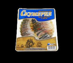 """Скумбрия """"Деликатесная"""" в масле 180гр Вкусное море"""
