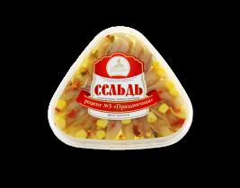 """Сельдь филе рецепт №3 """"Праздничная"""" 200гр Вкусное море"""