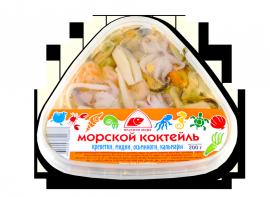 """Морской коктейль """"Креветки, мидии, осьминоги"""" 200гр Вкусное море"""