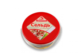 """Сельдь филе """"Ароматная"""" 500гр Вкусное море"""